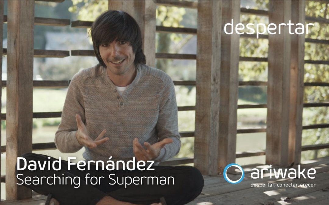 David Fernández, en busca de superhéroes de carne y hueso