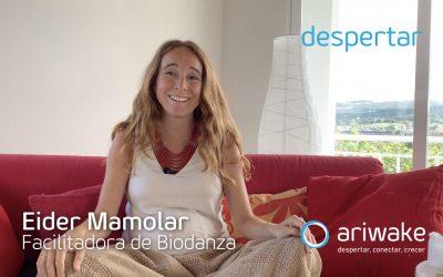 """Eider Mamolar: """"Conocí la biodanza, me reconocí y dije, aquí sí"""""""