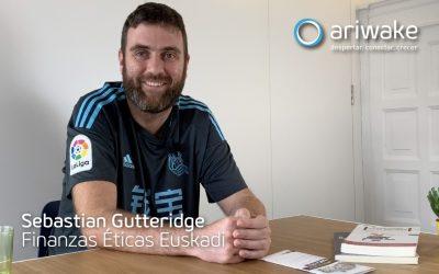 Sebastian Gutteridge, de Ingeniero mecánico a las finanzas éticas.
