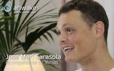 "Jose Mari Sarasola, ""Me dedico a acompañar almas"""