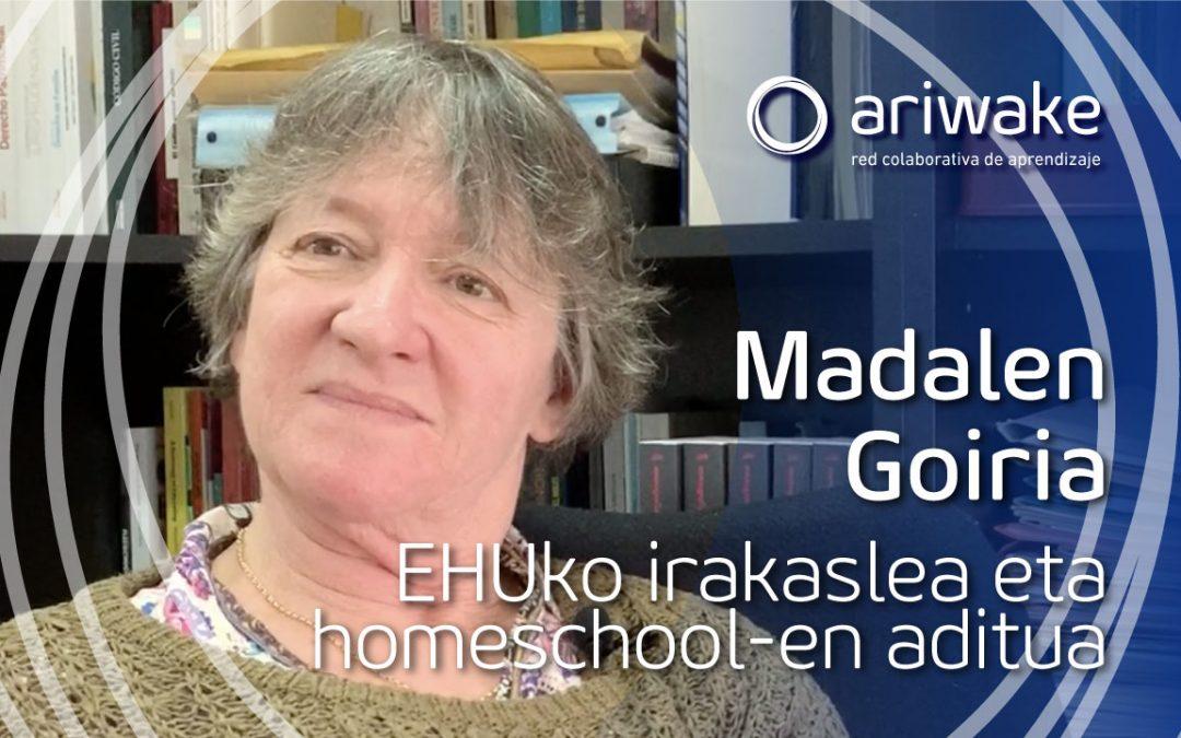 """Madalen Goiria: """"Ikerketaren garrantzitsuena, familien experientzia"""""""