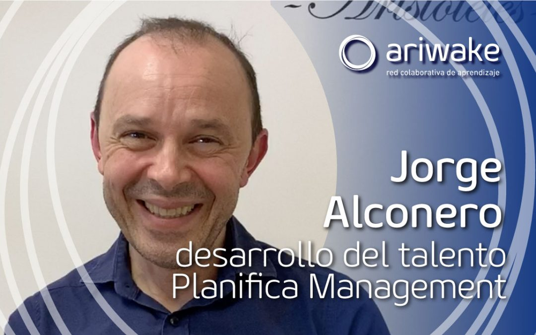 """Jorge Alconero: """"Concéntrate en tu proyecto y olvídate del miedo"""""""