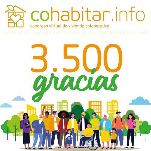 cohabitar live encuentro vídeo congreso virtual vivienda colaborativa ariwake cohousing gracias