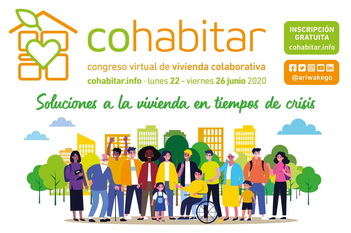 cohabitar congreso virtual vivienda colaborativa ariwake