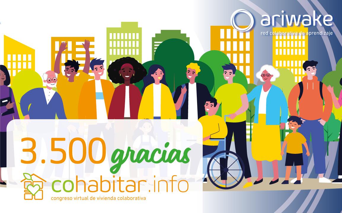 ariwake cohabitar gracias congreso vivienda colaborativa cohousing red colaborativa aprendizaje
