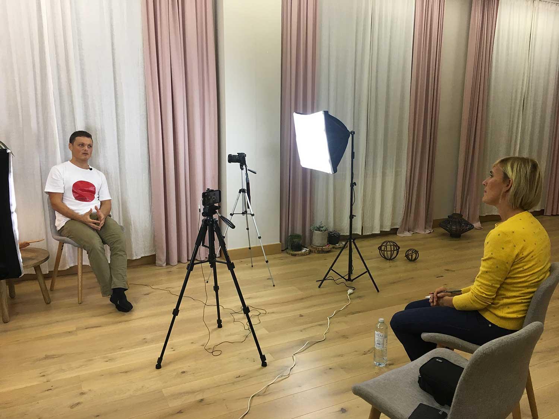ariwake sesion jose mari sarasola miren hernandez video entrevista
